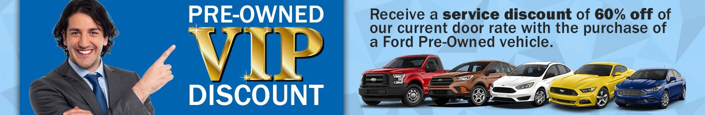 Pre-Owned VIP Discount