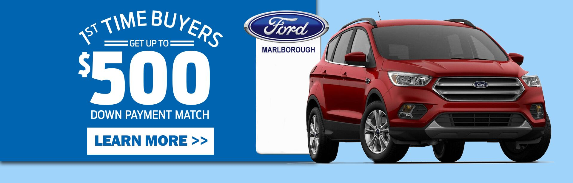 Marlborough Ford's First Time Buyer Program
