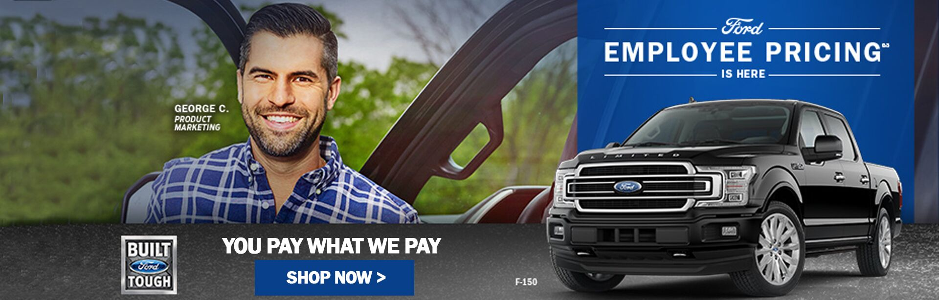 Employee Pricing at Marlborough Ford