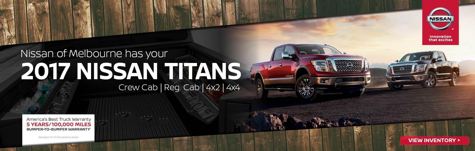 2017 nissan titan arrived