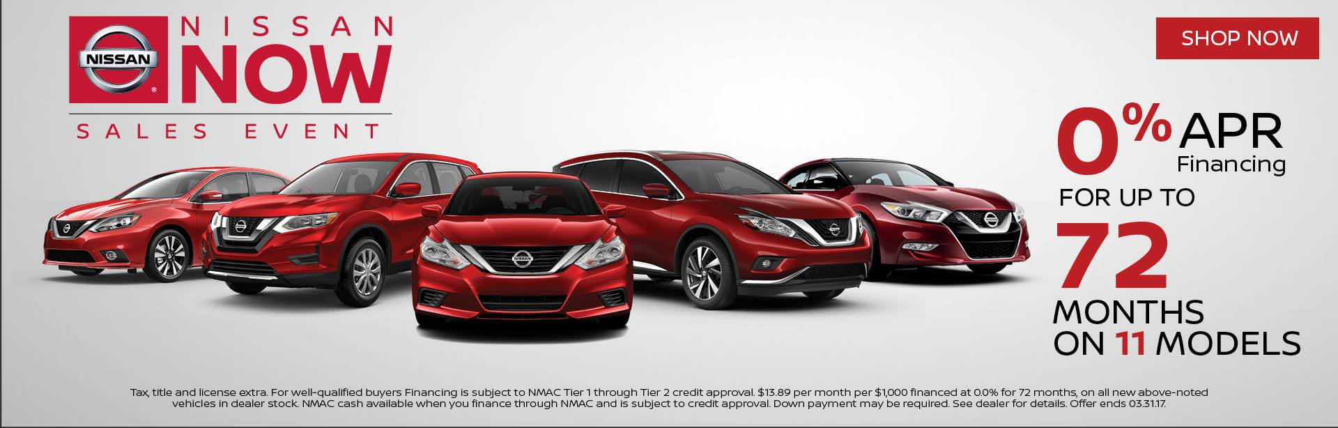 Nissan Now 0 for 72