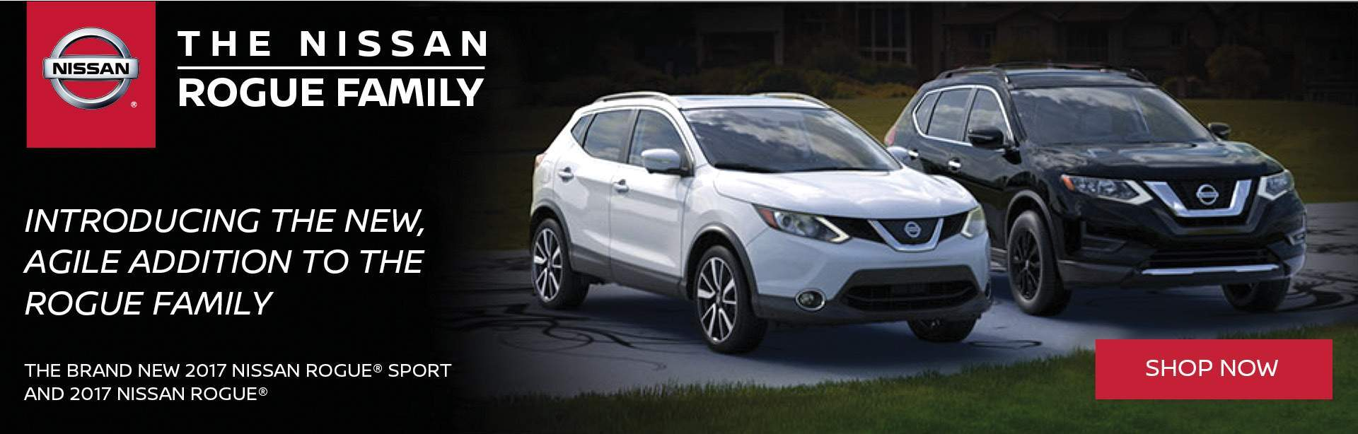 New 2017 rogue and rogue sports
