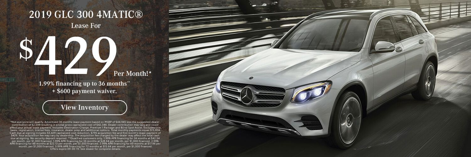 2019 GLC 300 4MATIC