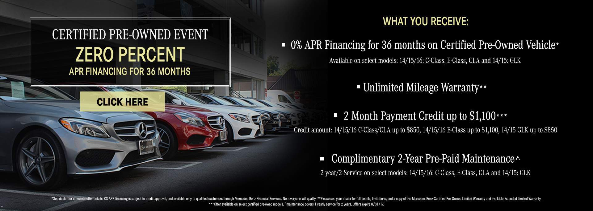 APR Financing CPO