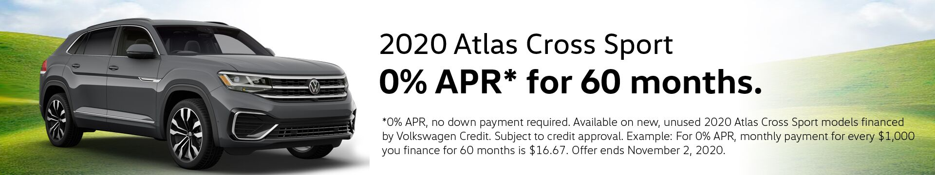 VW Atlas Cross Sport Finance Special