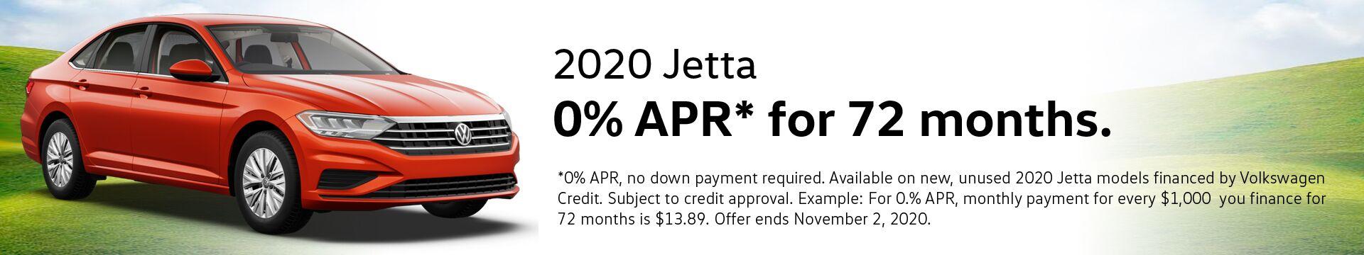VW Jetta Finance Special
