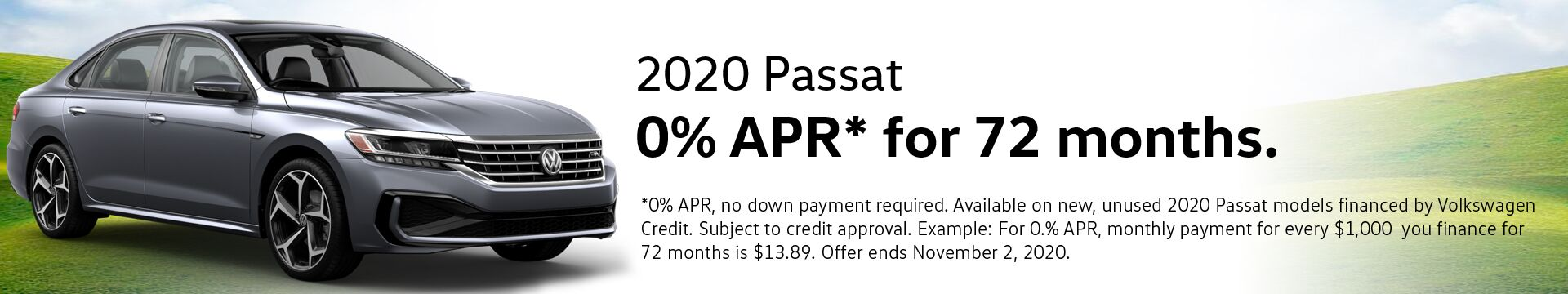 VW Passat Finance Special