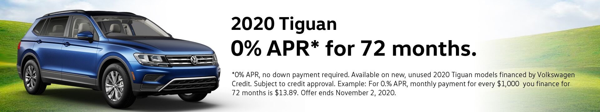 VW Tiguan Finance Special