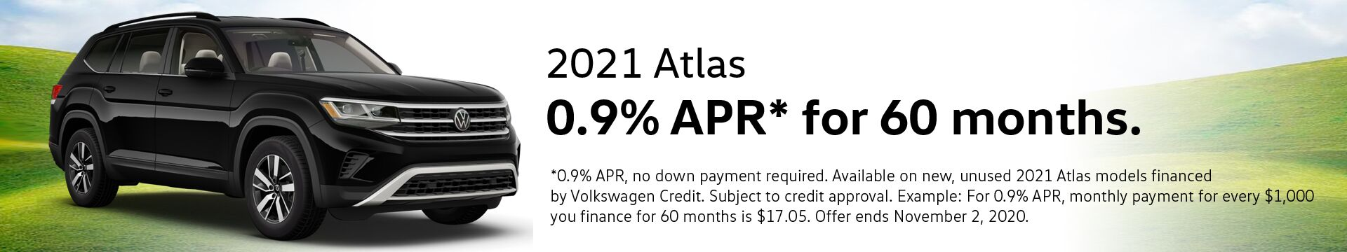 VW Atlas Finance Special
