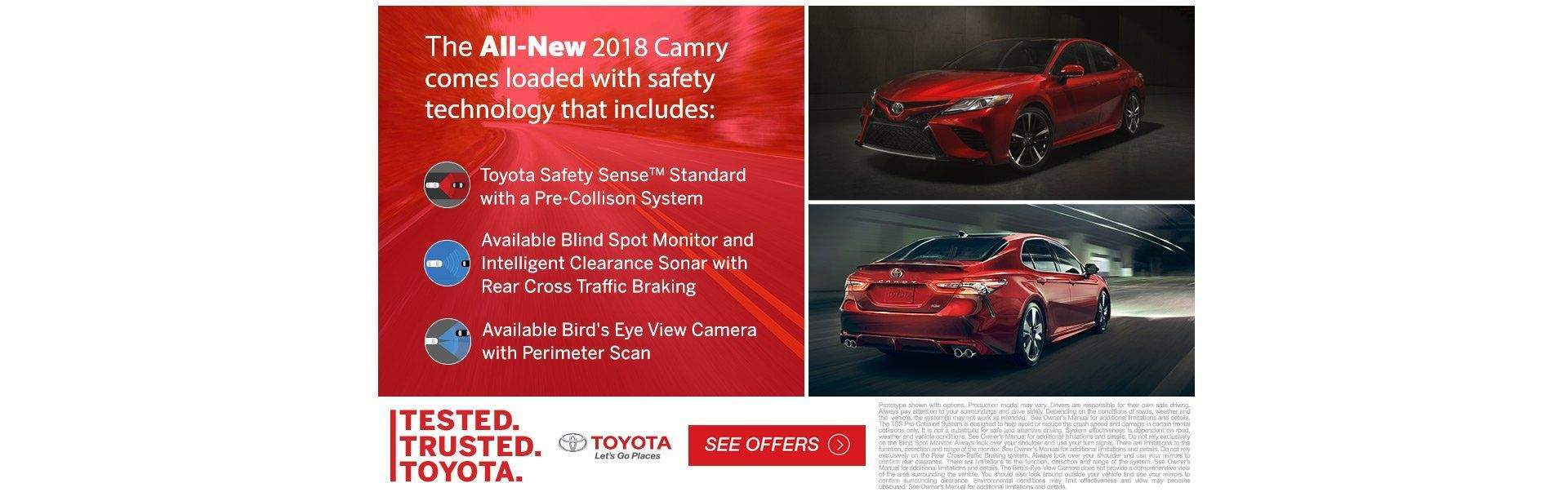 Tested Trusted Camry