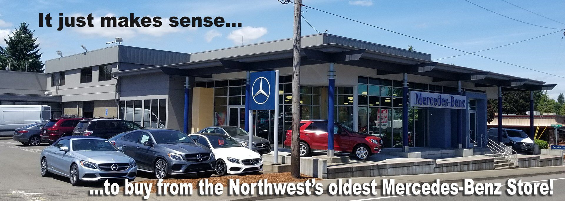 Northwest's oldest Mercedes-Benz Dealer