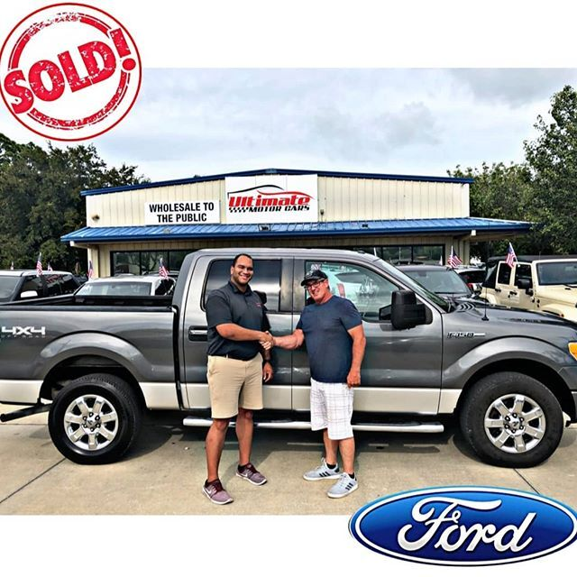 Sold Ford vehicle