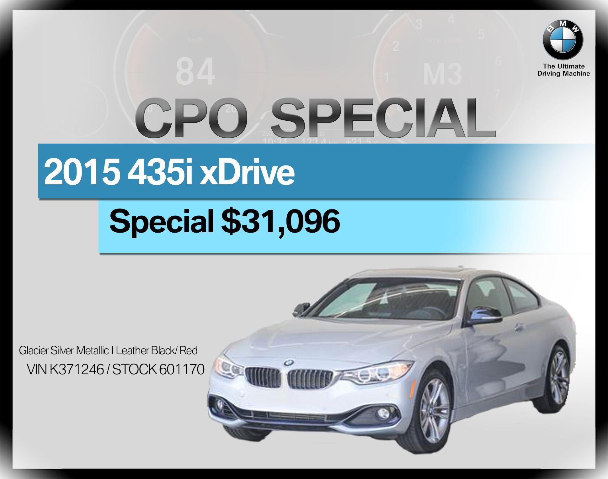 2015 BMW 4 Series 2dr Cpe 435i xDrive AWD