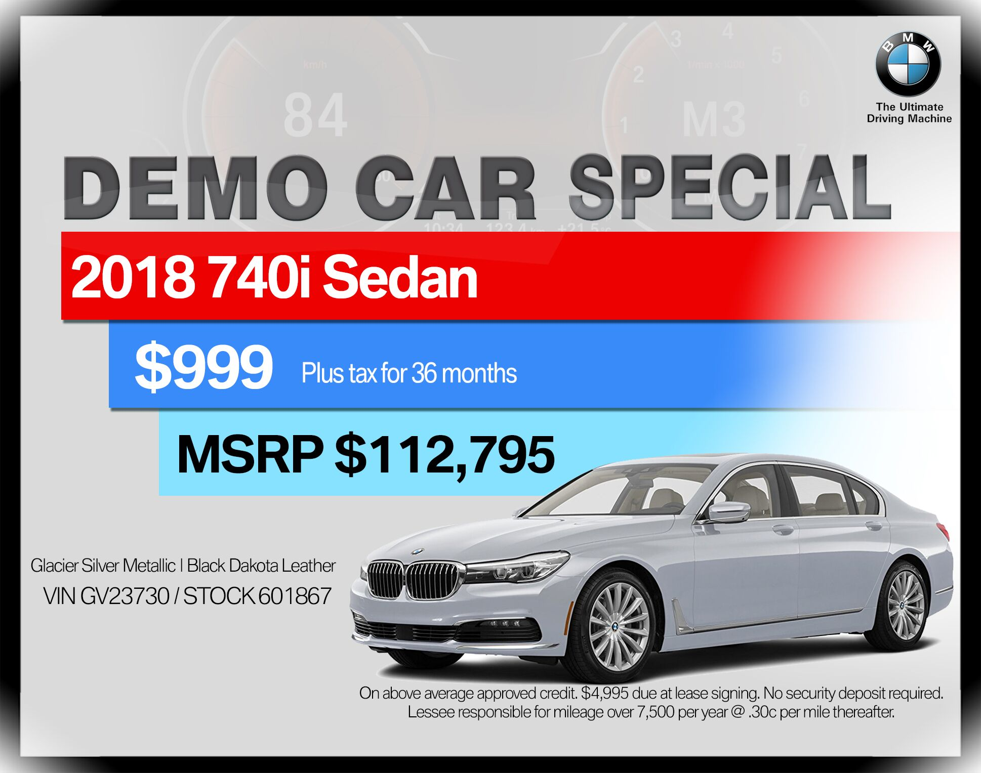 2018 BMW 7 Series 740i xDrive Sedan