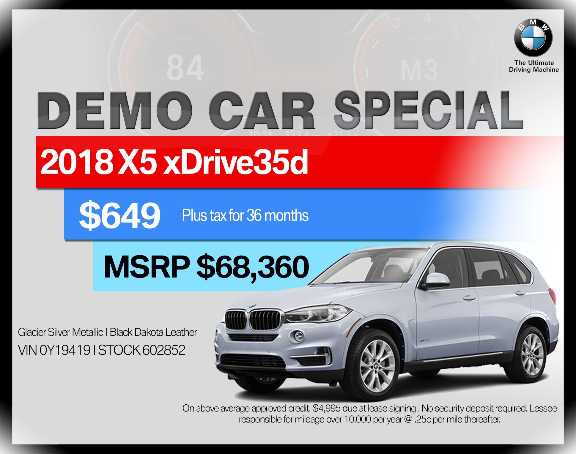 2018 BMW X5 xDrive35d Sports Activity Vehicle