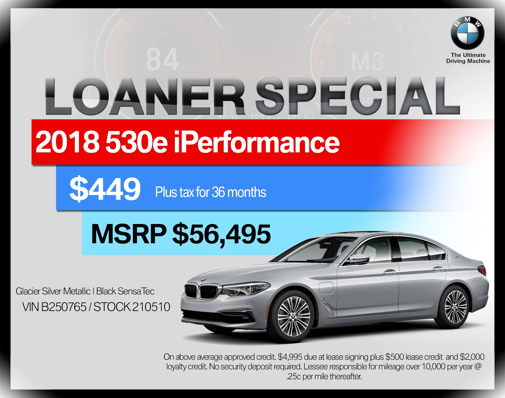 2018 BMW 5 Series 530e iPerformance Plug-In Hybrid