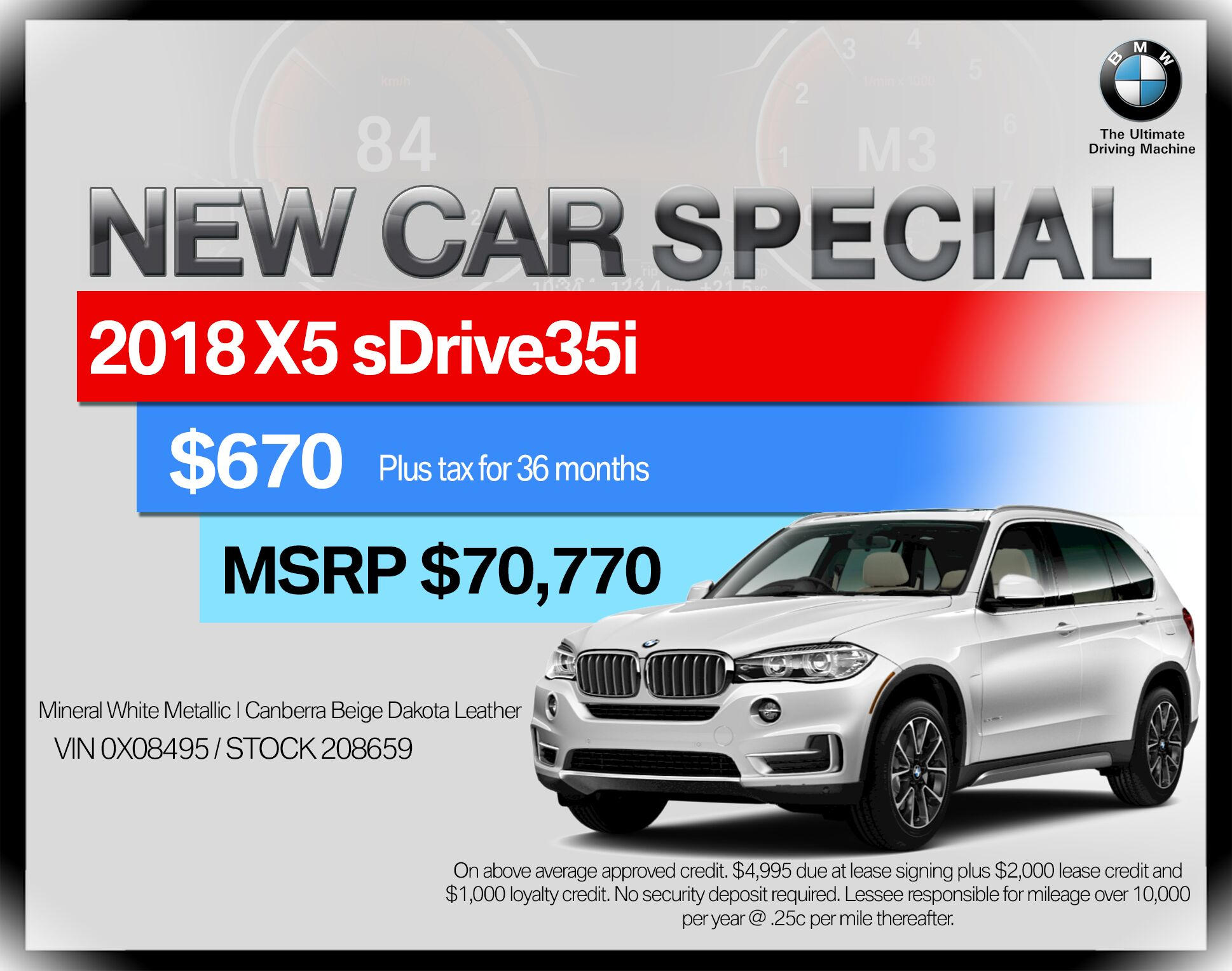 2018 BMW X5 sDrive35i Sports Activity Vehicle