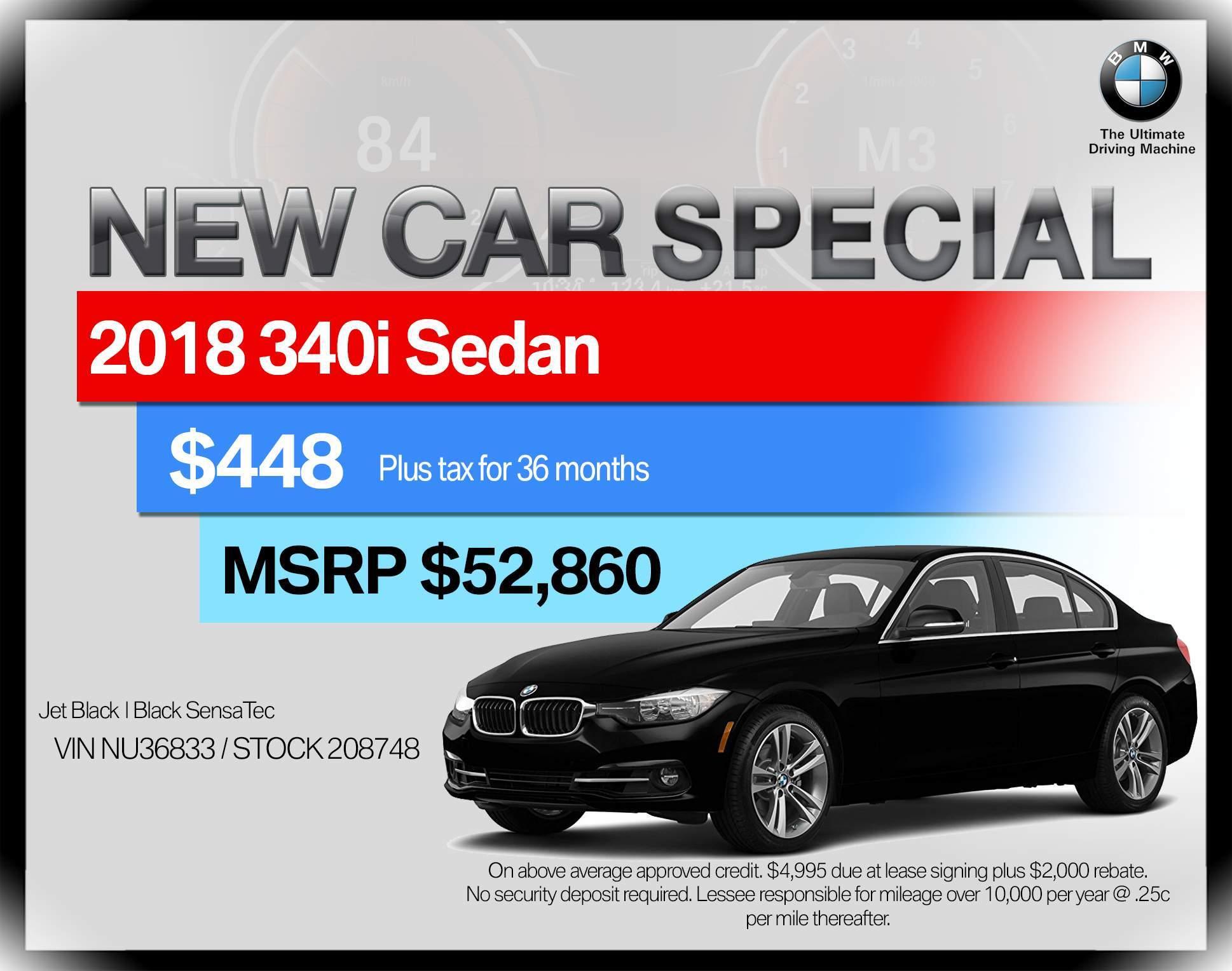 2018 BMW 3 Series 340i Sedan
