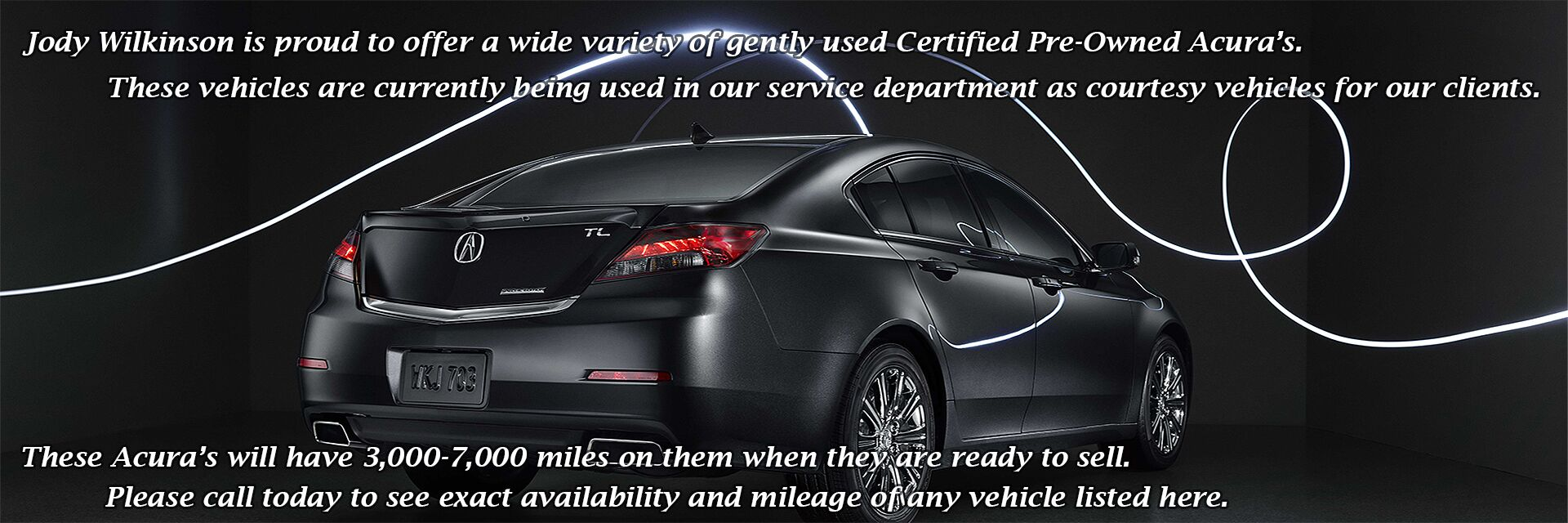 Certified Service Loaners