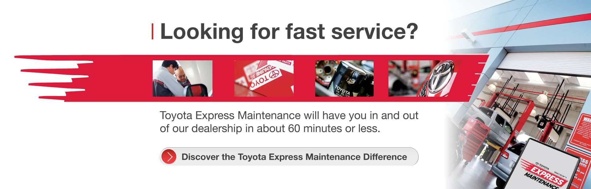 Toyota Express Maintenance at Spitzer Toyota Monroeville in Monroeville, PA