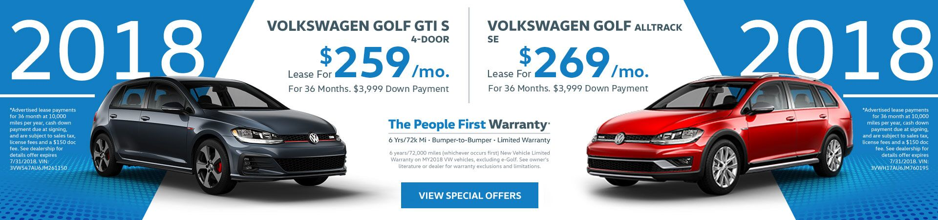 Golf July Special