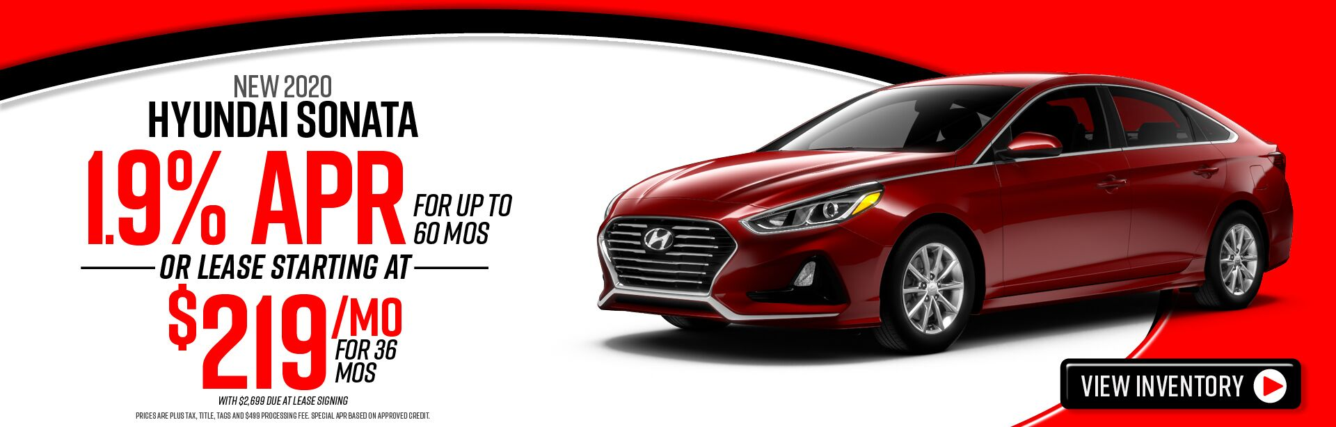 New 2020 Hyundai Sonata for sale in Winchester, VA