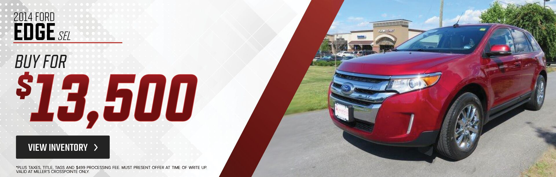 2014 Ford Edge Special
