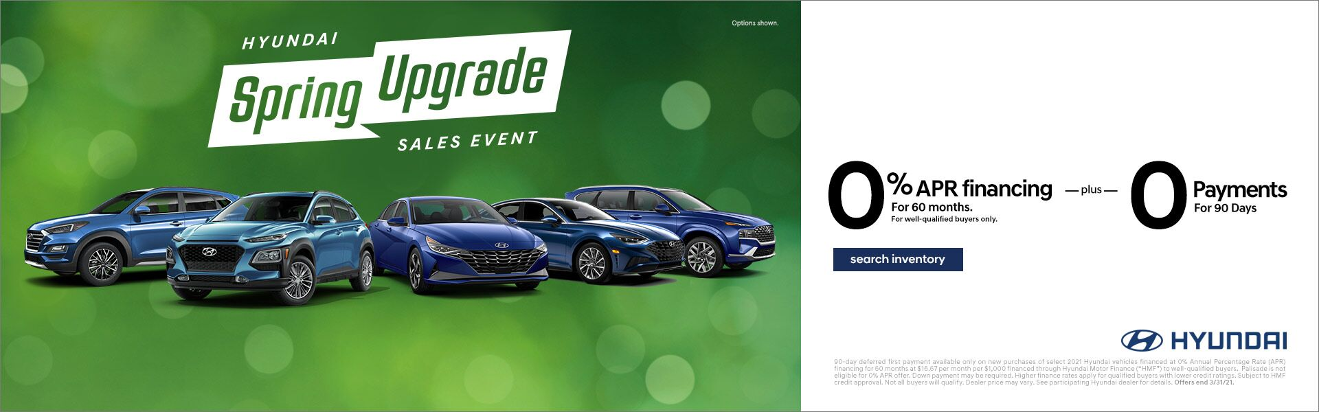 March - Hyundai Spring Upgrade Sales Event