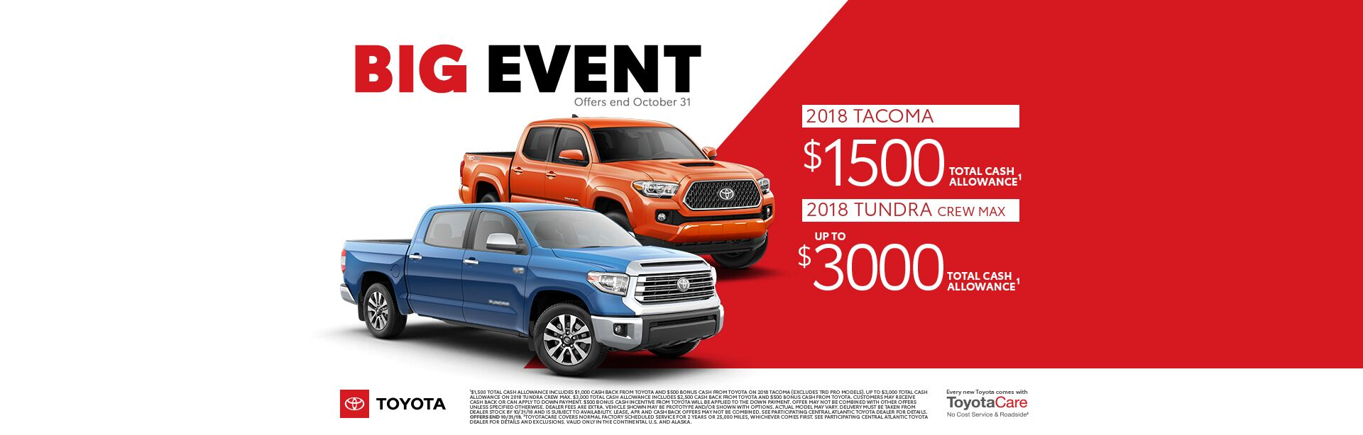 Big Event Tacoma/Tundra