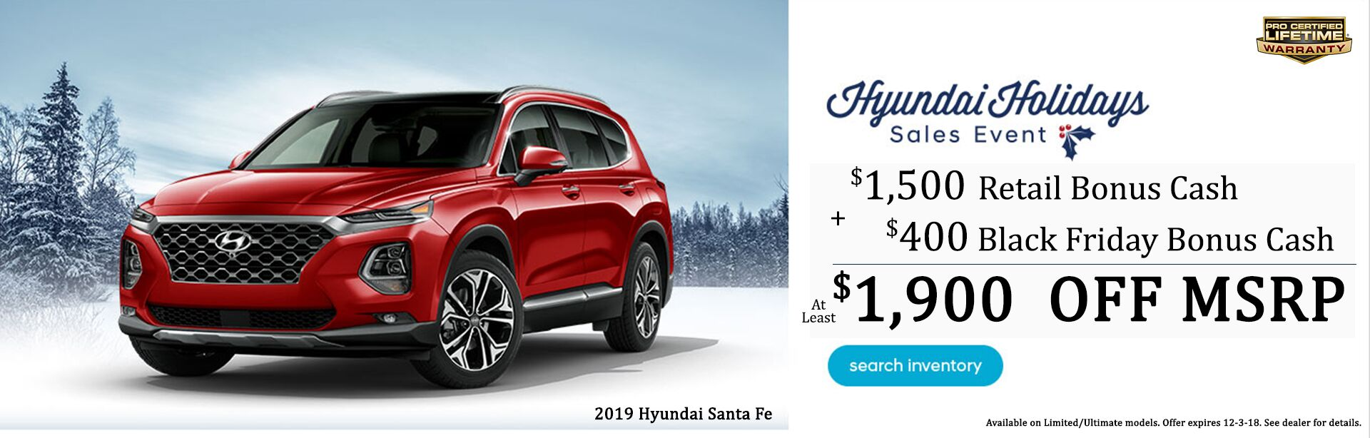 Santa Fe Holiday Savings