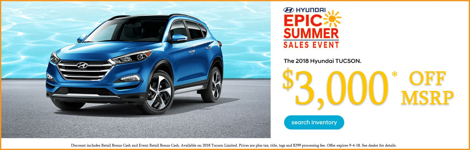 Tucson Summer Sales Event