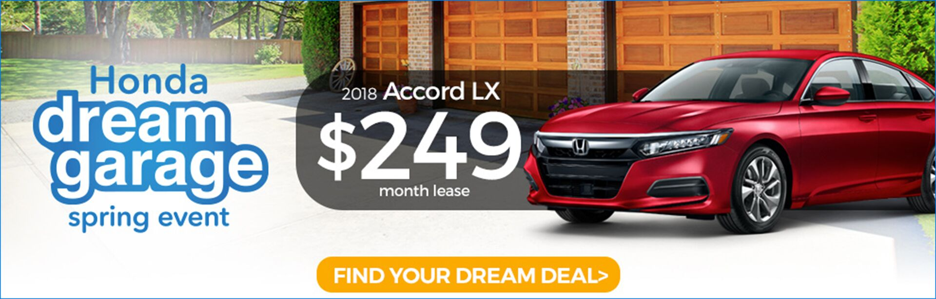 Dream Garage Accord Lease Special