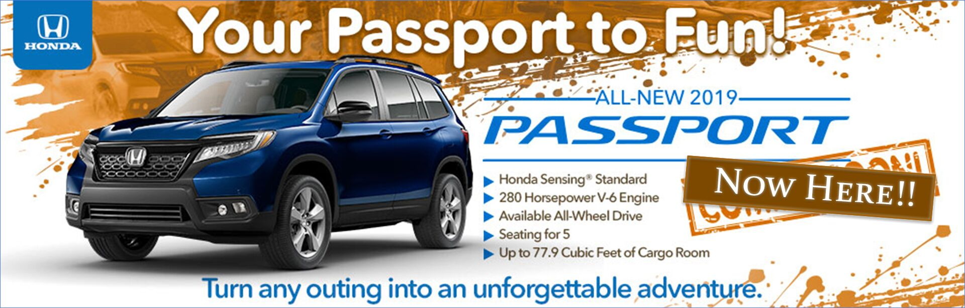 Honda Passport Now Here