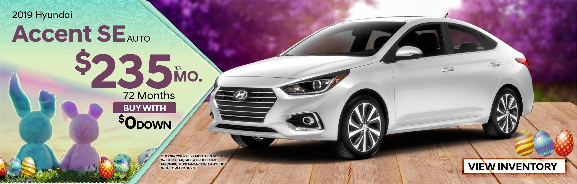 2019 Hyundai Accent Se Special
