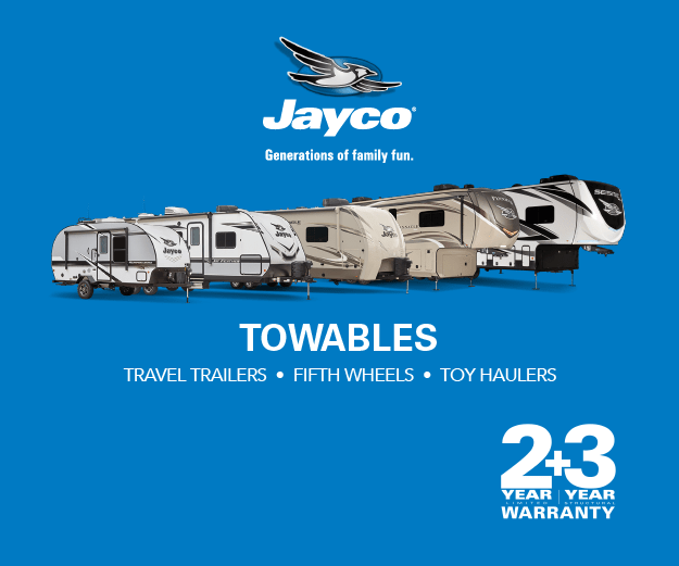 Jayco Towables in Stock