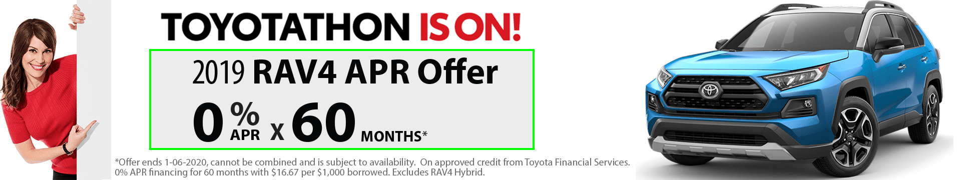2019 RAV4 Special Finance Offer