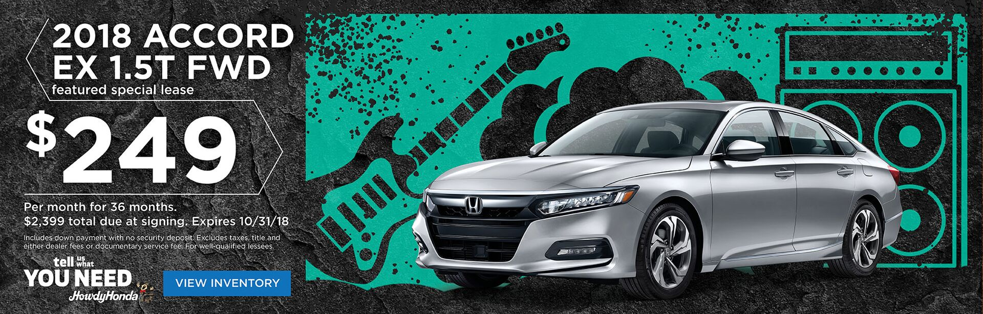 Honda Accord Fall Special