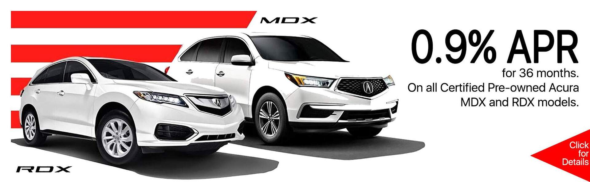 MDX RDX Certified Pre-owned APR