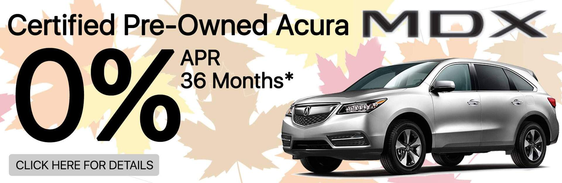 Certified Acura MDX