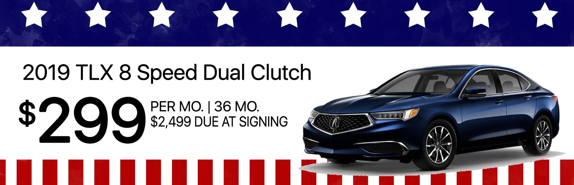 2019 Acura TLX Lease Special Marin Acura