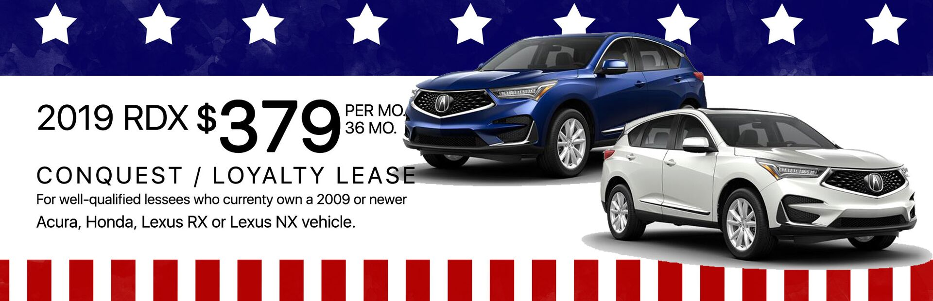 2019 Acura RDX Memorial Day Sale Marin Acura Lease Special