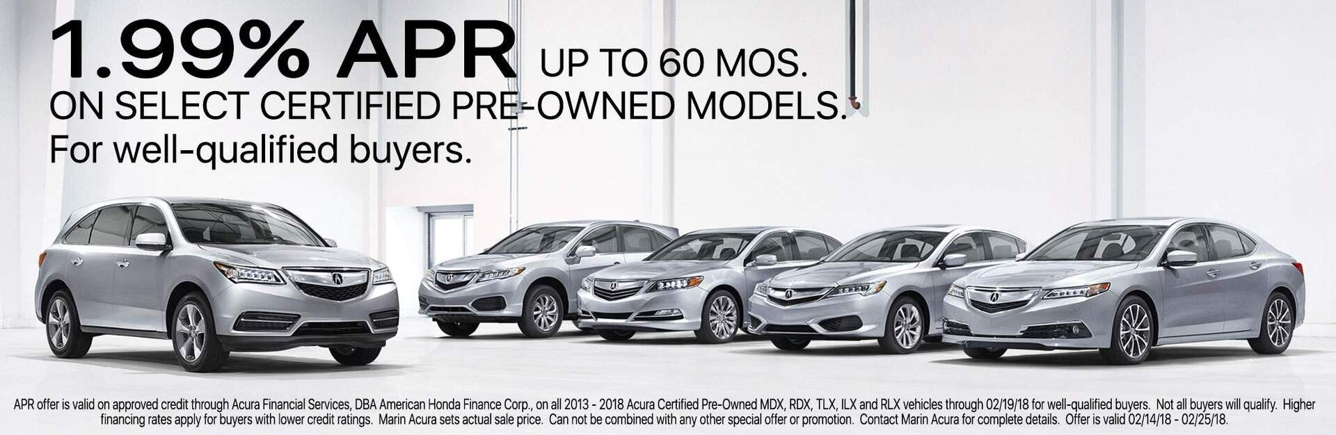 Certified Acura Inventory