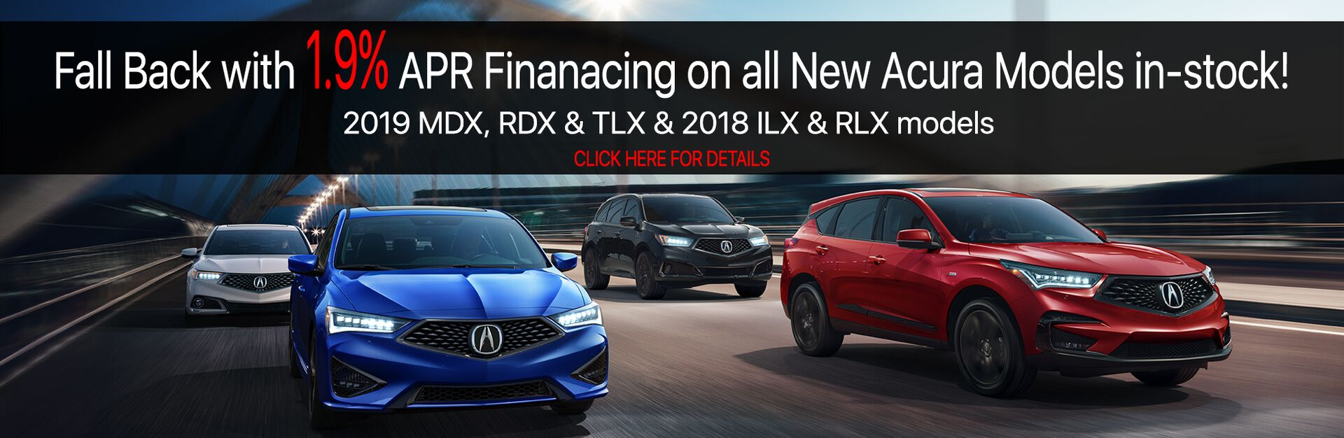 Acura Special APR Financing