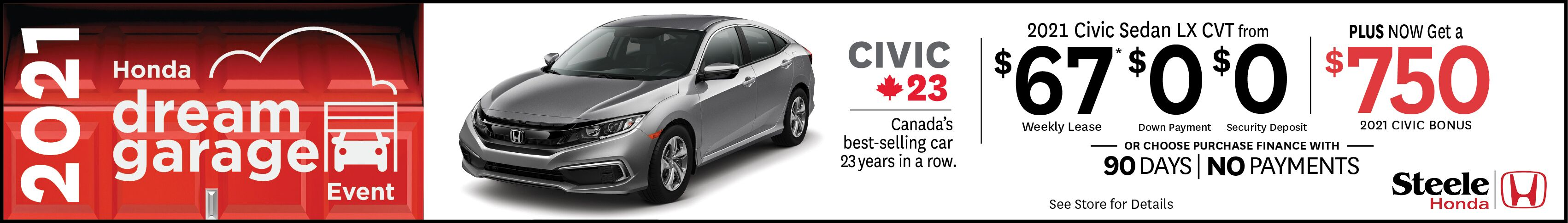 Civic February offer