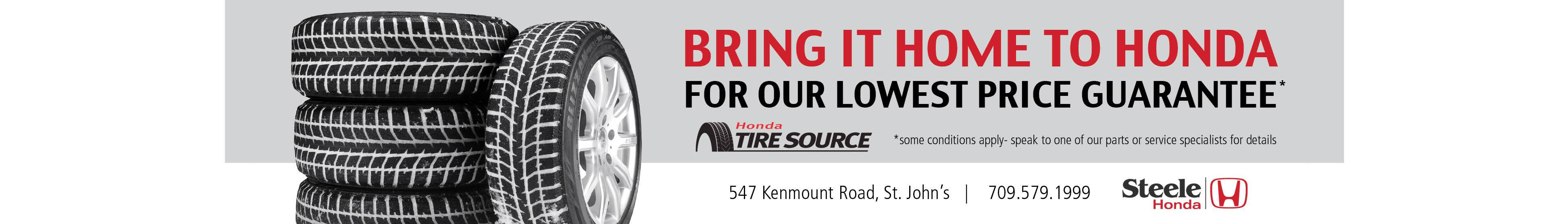 Tire Pricing Guarantee