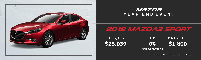 2018 Mazda Mazda3 Sport GS Manual