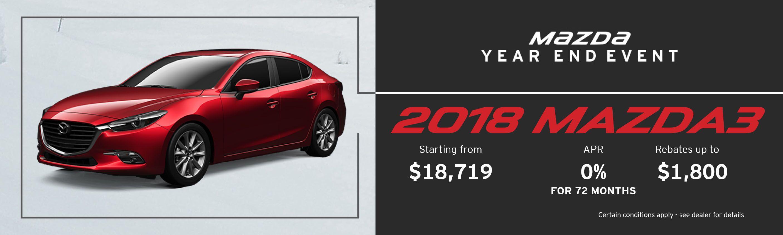 2018 Mazda Mazda3 GX Manual