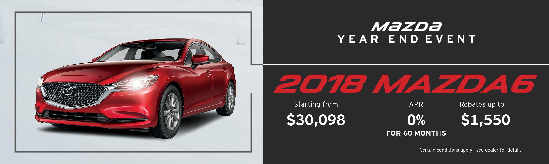 2018 Mazda Mazda6 GS Auto