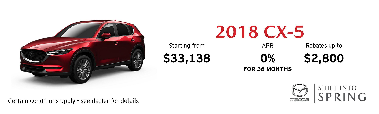 2018 Mazda CX-5 GS Auto FWD