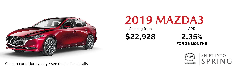2019 Mazda Mazda3 GS Auto FWD